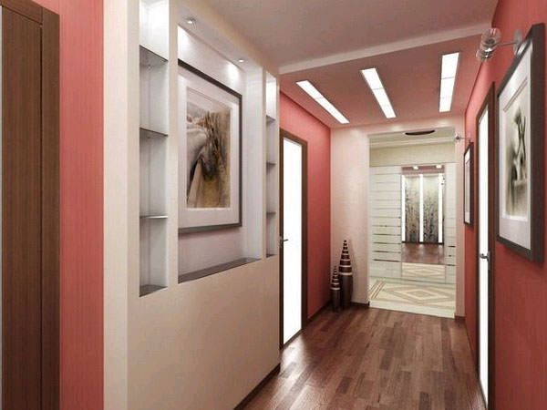 Украсяваме коридора - изключително върху него