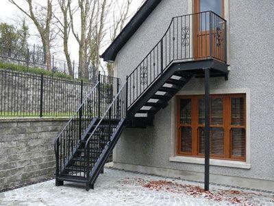 Ние правим улични метални стълби със собствени ръце за дома