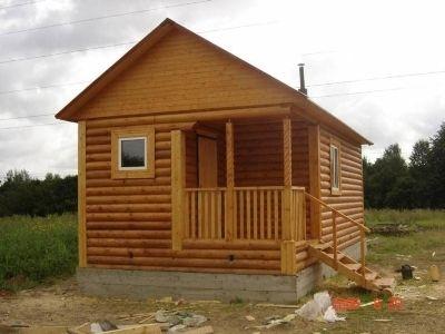 Дървена къща от фирма