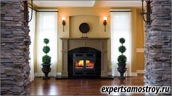 Газова печка-камина комфортна топлина и домашна уют