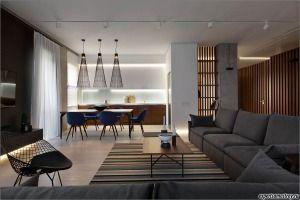 Елегантност на мрамор и дърво в частни апартаменти