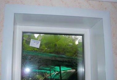 Как да направите склонове за пластмасови прозорци