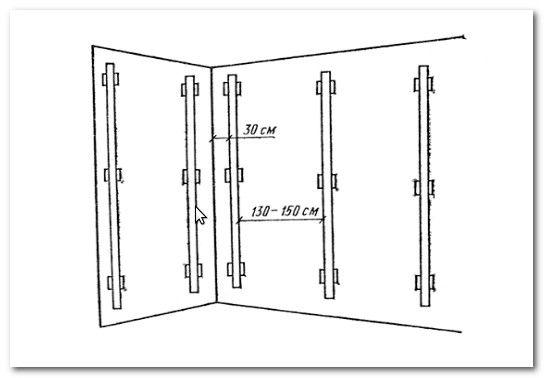 Как правилно да стените стени на маяци видео инструкция