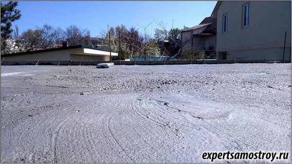 Колко правилно да излея бетон?