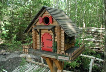 Как да си направите къщичка за птици с ръцете си, изработени от дърво, картон