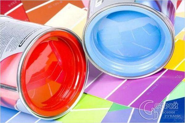 Боя на боя със собствени ръце - избор на цвят на боята