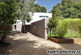 Красива къща на игумена от дизайнерско студио