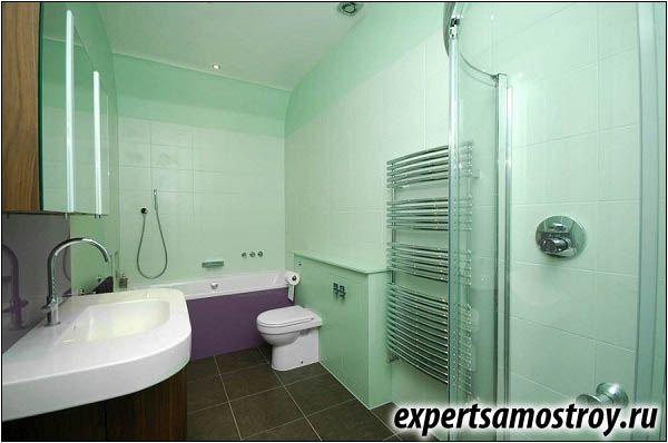 Правилно оформление на банята