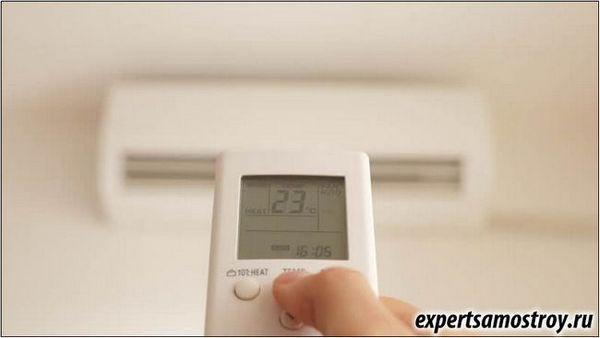 Принципът на климатика в стаята