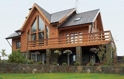 Държава дървена къща