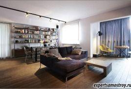 Индустриален дизайн на апартамент във Варшава