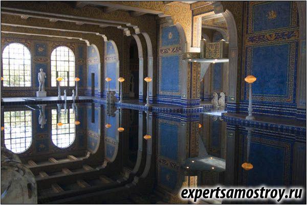 Римската баня на термина