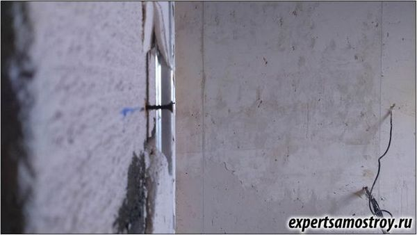 Мазилка за стени за тапети