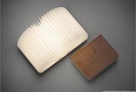 Лампа книга