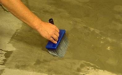 Полагане на керамични плочки, технология на облицовка на пода и стените на ръцете