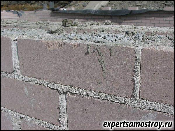 Изграждане на конструкции от блокове газ-силикат